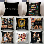 TV Show Friends Pillowcase Home Sofa Decor Pillowcase Car Waist Cushions Cover  image