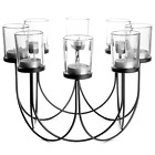 8 Tea Light Candle Holder | Wedding Table Centerpiece Decoration | M&W