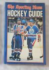 1985-86 The Sporting News Hockey Guide Wayne Grerzky Edmonton Oilers