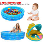 Round Inflatable Swimming Pool Kids Playing in The water For Summer Happy hour