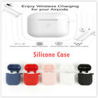 Qi Wireless Charger Soft Silicone Case Earphones for Apple Airpods2 1 Protective
