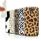STUFF4 Gel/TPU Phone Case for HTC Desire 526G+ /Fashion Animal Print Pattern