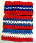 One Handmade Red/White/Blue Patriotic Headband Ear Warmer