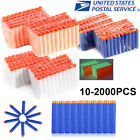 10-1000Pc Lot Colors Refill Soft Bullet Darts For Nerf N-strike Blasters Toy Gun