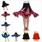 Full Circle Long Skirt Swing Belly Dancer Latin Costume Tribal Skirts Ballroom