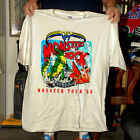 Vintage 1988 MONSTER OF ROCK TOUR CONCERT T SHIRT reprint Size S M L XL 2Xl image