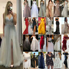 Women Formal Bridesmaid Wedding Long Dress Evening Cocktail Party Prom Ball Gown $19.28 USD on eBay
