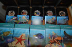 Autralian 2011 - Sea life - the reef - 5 x 50 CTS 1/2 oz silver proof Perth mint