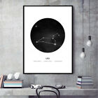 30x40cm Canvas Wall Art Constellation Astrology Print Painting Home Decor