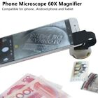 Phonescope Microscope 60X Magnifier for Cion Stamp jewelry Smartphones Iphone