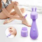 Powerful Mini Vibrator Massager Wireless Massagers Personal Wand w/ 2 Tops Head