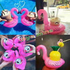 1/5pcs Flamingo Floating Inflatable Drink Coke Can Cup Holder Pool Bath Kid Toys $1.0  on eBay