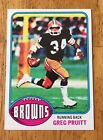 1976 Topps Gregg Pruitt Clevland Browns #275 NM