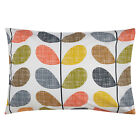 Внешний вид - BNIB ORLA KIELY 100% COMBED COTTON SCRIBBLE STEM MULTI SHAMS PILLOWCASES PAIR