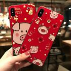 Cartoon pig Phone Cases for iphne X XR XSMAX 6 6s 6plus 7 8plus Soft Back Cover