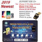 Kyпить Heicard Unlock Turbo SIM Card For iPhone 11 Pro X XR XS Max 8 7 6S Plus 4G ICCID на еВаy.соm