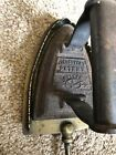 Vintage Antique Silvesters Patent Salter 5 Cast Iron With Brass Stand