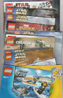 "LEGO 4"" X 6"" Instruction Booklets - YOU PICK! Toy Story, Star Wars. City, plus"