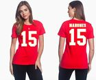 Patrick Mahomes II Kansas City Chiefs #15 NFL Jersey Style Women's Graphic T on eBay