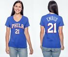 Joel Embiid #21 Philadelphia 76ers Jersey Style NBA - Graphic T-Shirt Women's on eBay