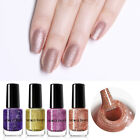 NICOLE DIARY 6ml Pearl Matte Nail Polish Glitter Nail Art Varnish Water Based