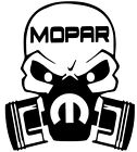 MOPAR DODGE RAM HEMI SKULL DECAL CAR TRUCK VINYL STICKER ( 12 COLORS ) 10 SIZES $2.99 USD on eBay