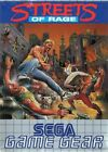 SEGA Game Gear game - Streets of Rage 1 cartridge