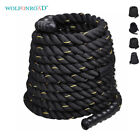 "Battle Rope Gym Fitness Training Rope 1.5""/2'' Width Exercise Workout Equipment for sale  Shipping to Nigeria"