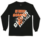 Outerstuff MLB Youth San Francisco Giants Long Sleeve Baseball Tee on Ebay