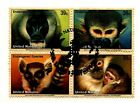 CSS  - UN 925-8, 39c Endangered Species, Used Block of 4