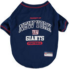Pets First NFL New York Giants Property NYG T shirt Dog clothing all Sizes USA $11.95 USD on eBay