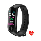 Automatic Waterproof M3 Plus Smart Wristband Blood Pressure Heart Rate Monitor