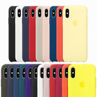 Original Silicone OEM Genuine Case Cover For A pple i Phone XR XS MAX
