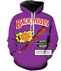 Men's/women's Backwoods Honey Berry 3D Print Sweatshirt Hoodies Tops Pullover B9