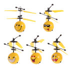 Levitating Sphere Smiley Face Helicopter Flying Ball Emoticon RC Drone Toy D8Y7