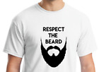 T-Shirt gift dad-Respect the beard shirt-Father's Day gift-Christmas tee -funny