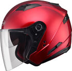 GMAX OF77 OPEN FACE HELMET M (CANDY RED) G3770095