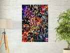 22 Marvel Cinematic Universe COLLAGE Poster Avengers End Game Movie Art Print