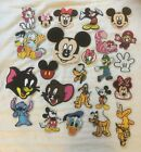 Disney & TV Character Iron-on/sew-on embroidery Patches 73 designs £1.79 GBP on eBay