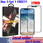 US 3D Full Coverage Tempered Glass Screen Protector for i Phone X 8 Plus mr