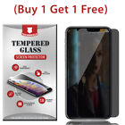 PRIVACY Tempered Glass Film Screen Protector For iPhone 8 7 Plus X XR XS Max SE