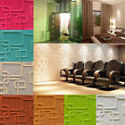3d Removable Brick Wall Sticker Decor Foam Panel Living Room Home Wall Decal Us