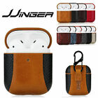 Luxury Airpods Case Leather Protective Cover Shockproof For Apple Airpod Pro 2 1