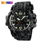 SKMEI Men's Sports Waterproof Military Multifunction Digital &Analog Wrist Watch image