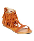 MODERN RUSH GIRLS SIZE 3 FRINGE SANDALS NEW WITHOUT BOX