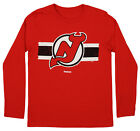 Reebok NHL Youth New Jersey Devils Honor Code Long Sleeve Tee $9.99 USD on eBay