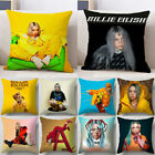 Billie Eilish Case Sofa Car Waist Cushions Cover Home Decor Polyester Pillowcase image