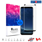 For Galaxy S9 S9+ 3D 9H Tempered Glass Curved Case Friendly Screen Protector