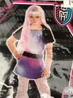 Abbey Bominable Moster High Child's Costume Small 4-6  - NWT