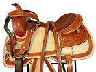 16 15 RODEO WESTERN SADDLE PLEASURE TRAIL HORSE TOOLED LEATHER ROPING RANCH TACK